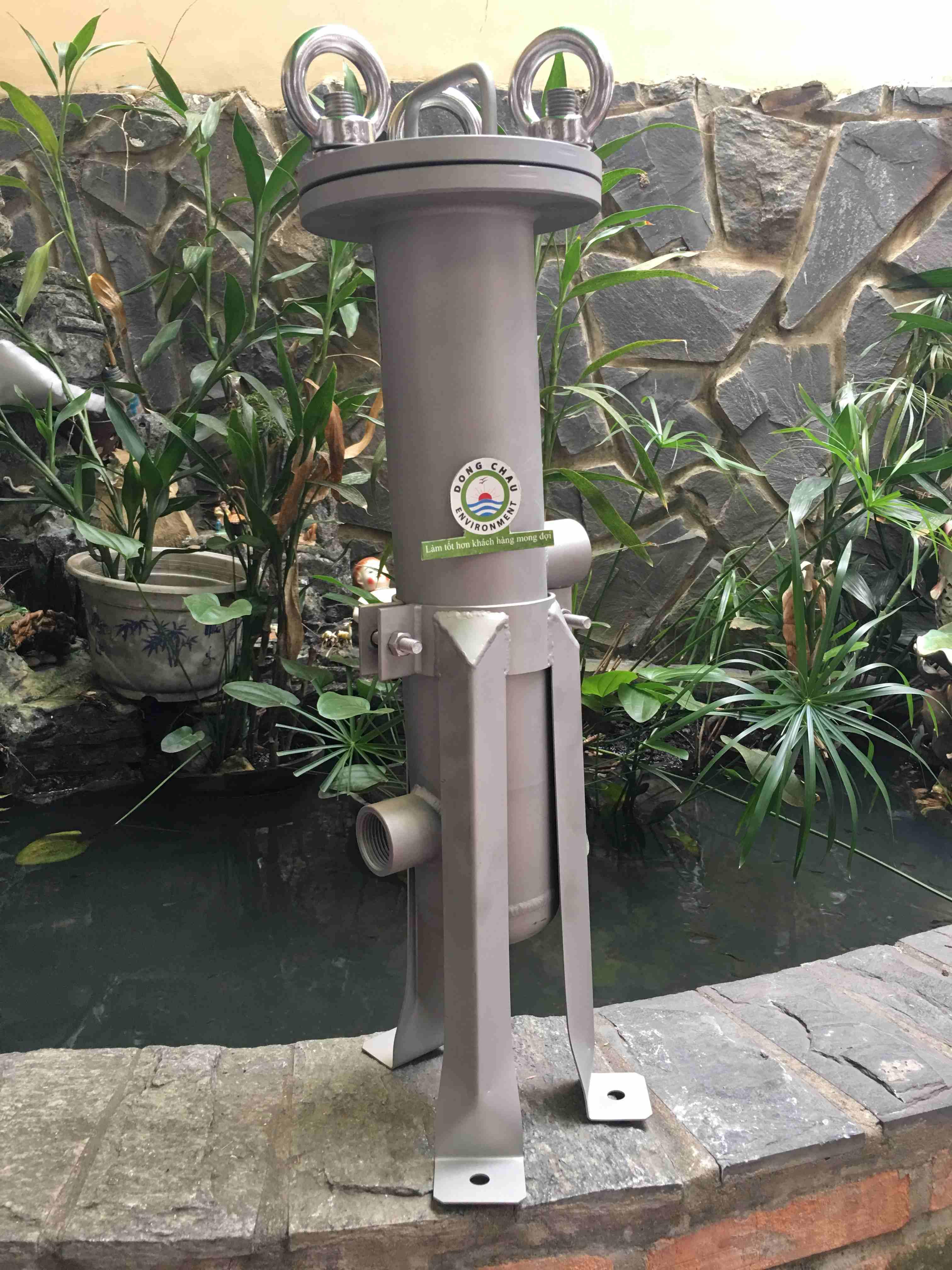 Bình lọc 1 lõi 10 inch DOE Singapore