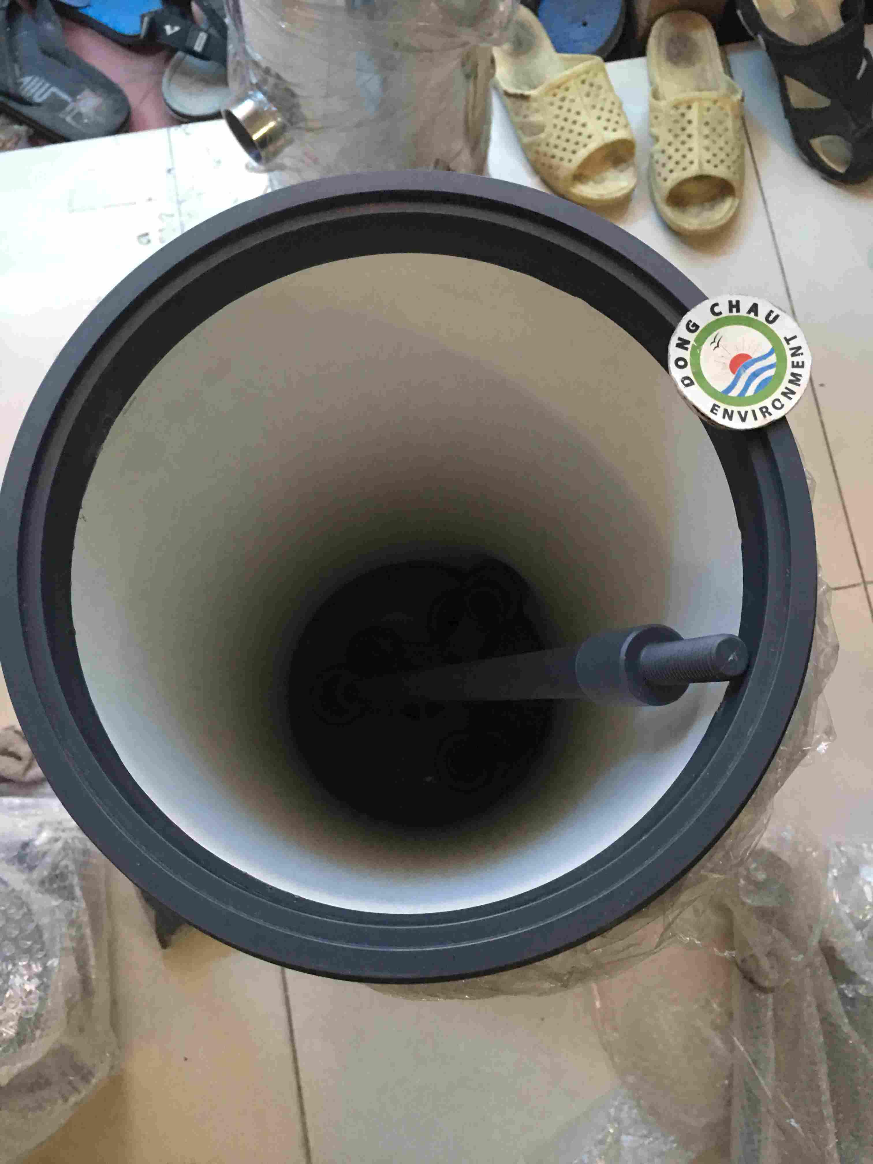 Bình lọc 3 lõi 20 inch DOE nhựa