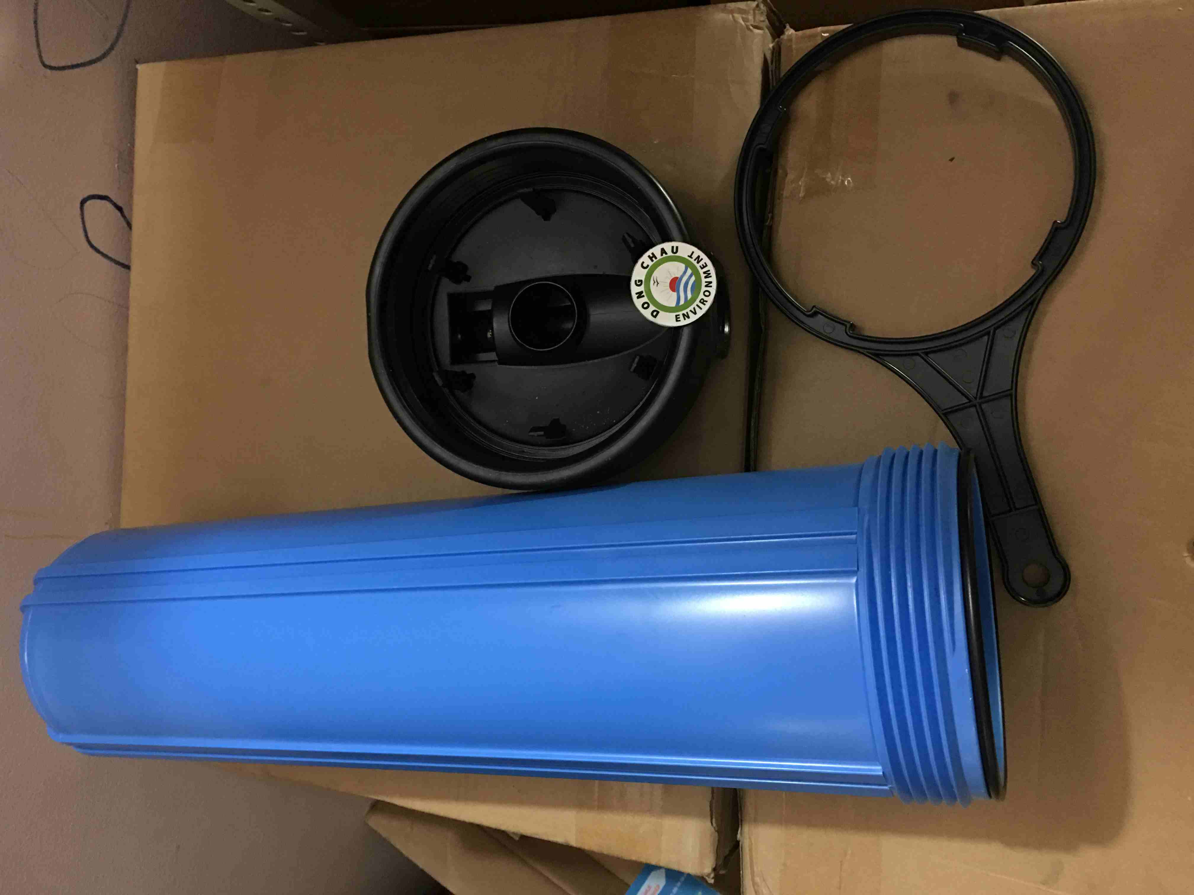 Cốc lọc nhựa xanh Biglu 20 inch