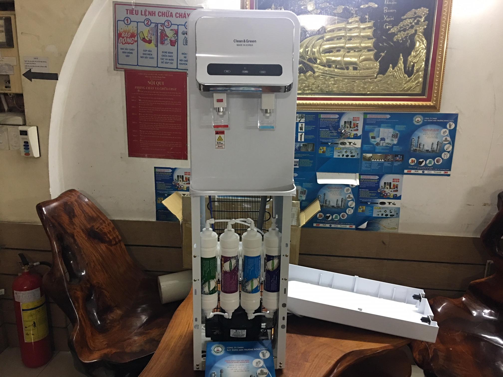 Máy lọc nước nóng lạnh Hàn Quốc