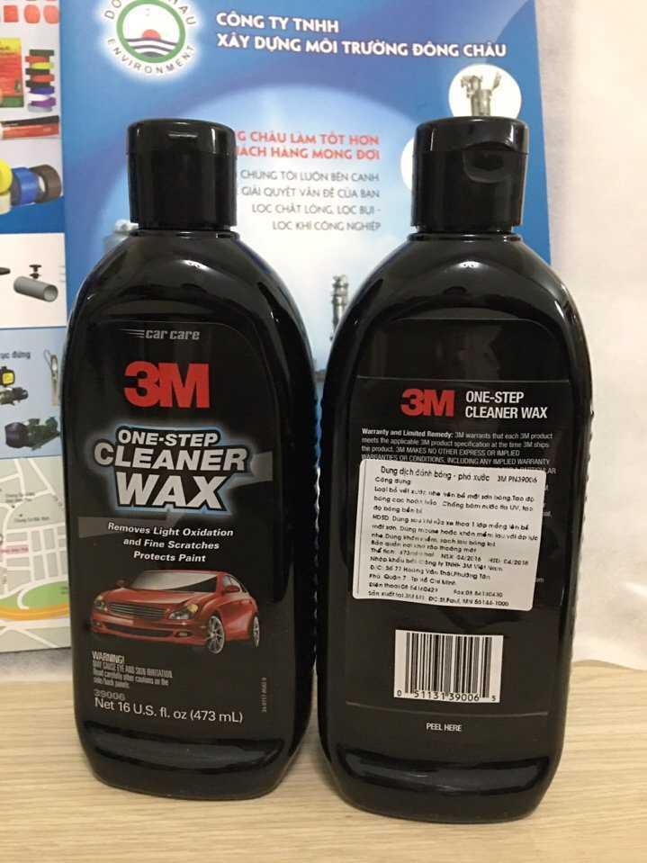 Chai bảo vệ sơn ô tô 3M 38600 loại bỏ hầu hết các vết trầy xước, quá trình oxy hóa nhẹ, vết xoáy, đốm nước và các vết bẩn nhỏ.