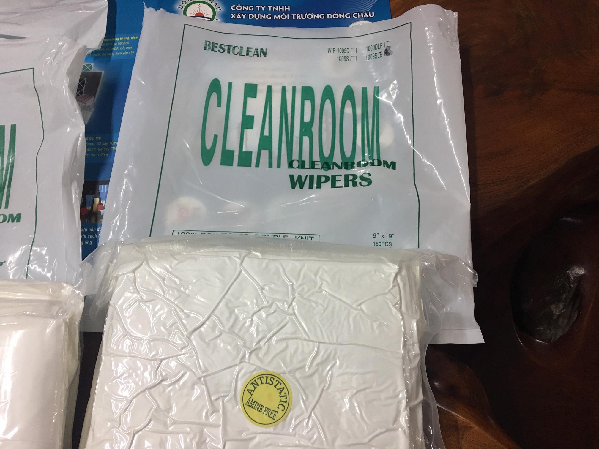 Khăn lau phòng sạch CleanRoom chất lượng