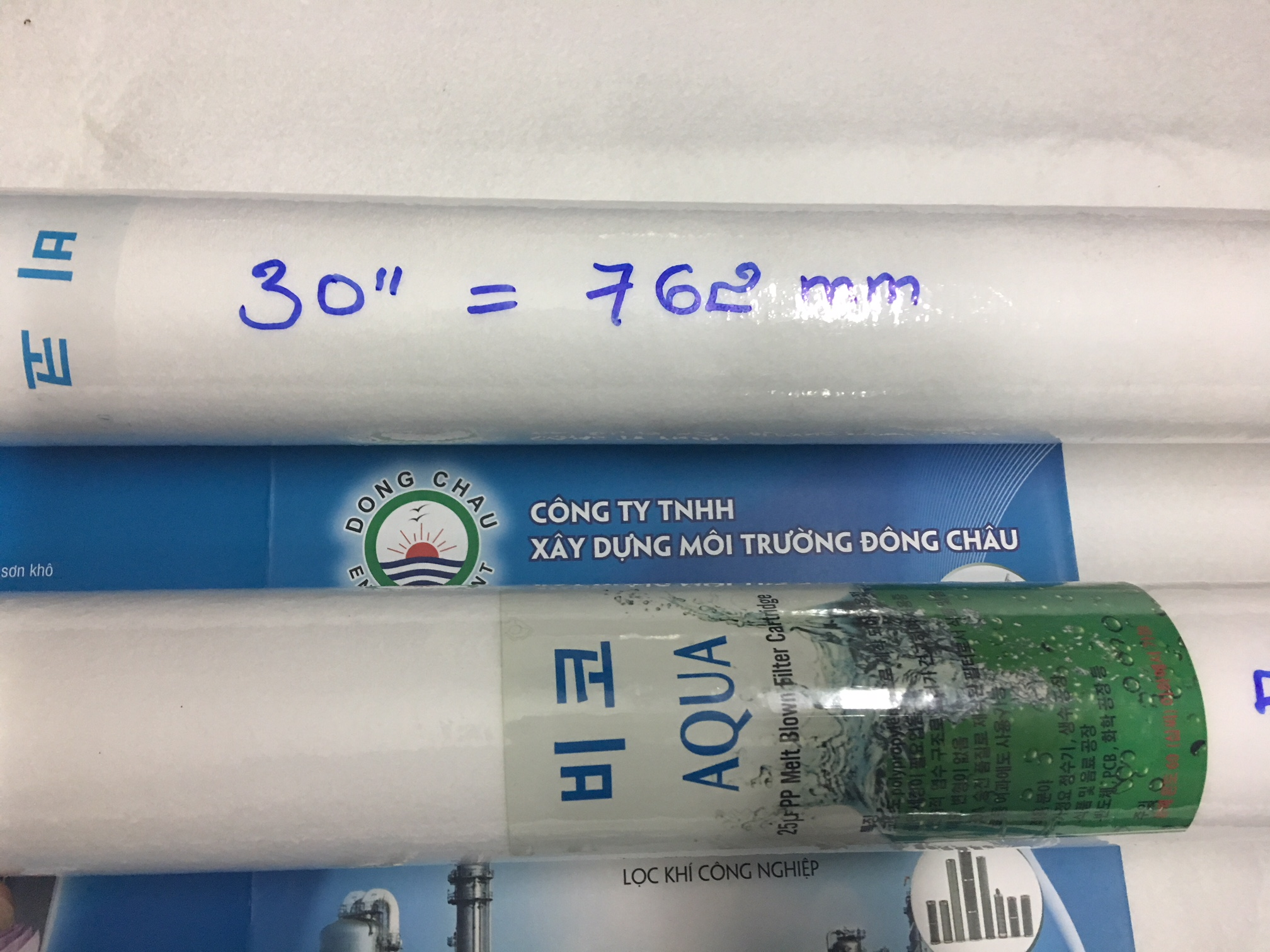 Lõi lọc nén Aqua 50 micron 30 inch