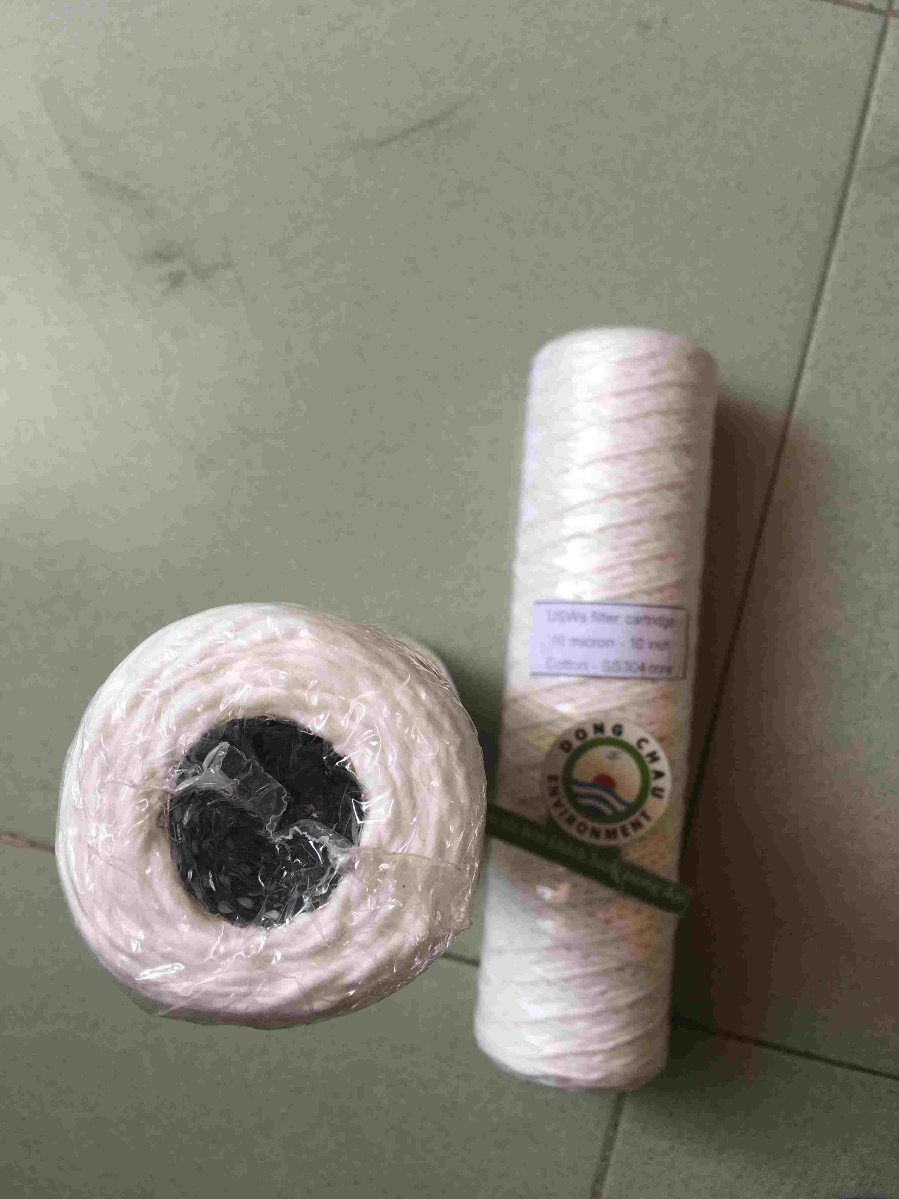 Lõi lọc sợi inox 5 micron 10 inch