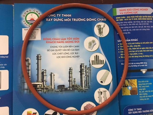 Ron Chịu nhiệt và hóa chất cho bình inox lọc túi