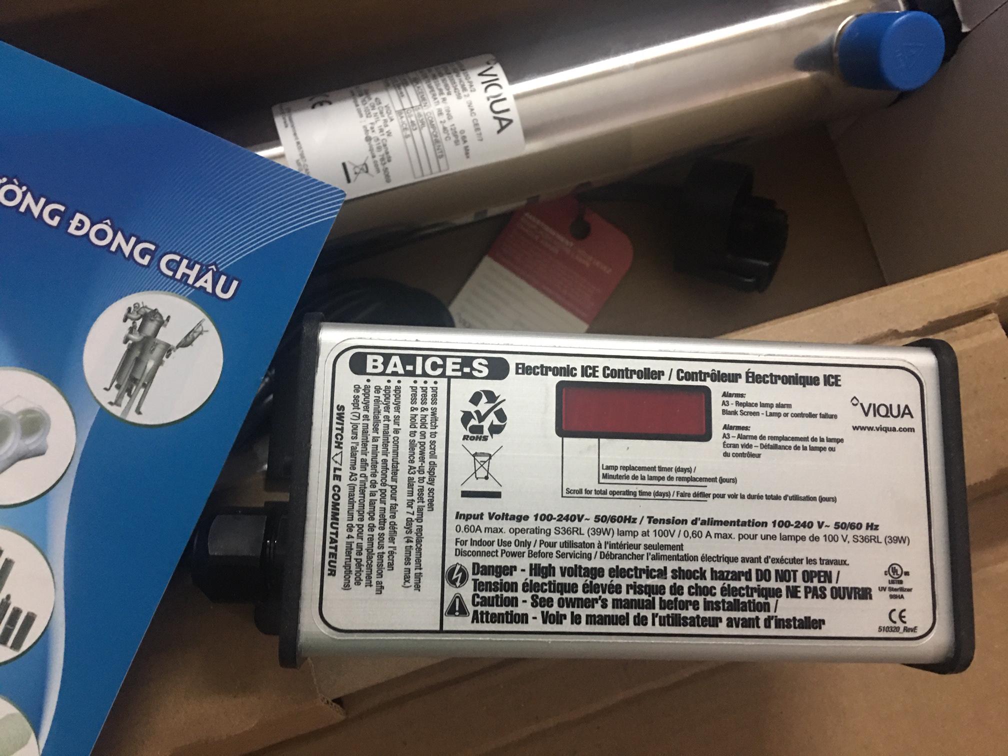 Bộ đèn khử trùng UV Viqua S5Q-PA2