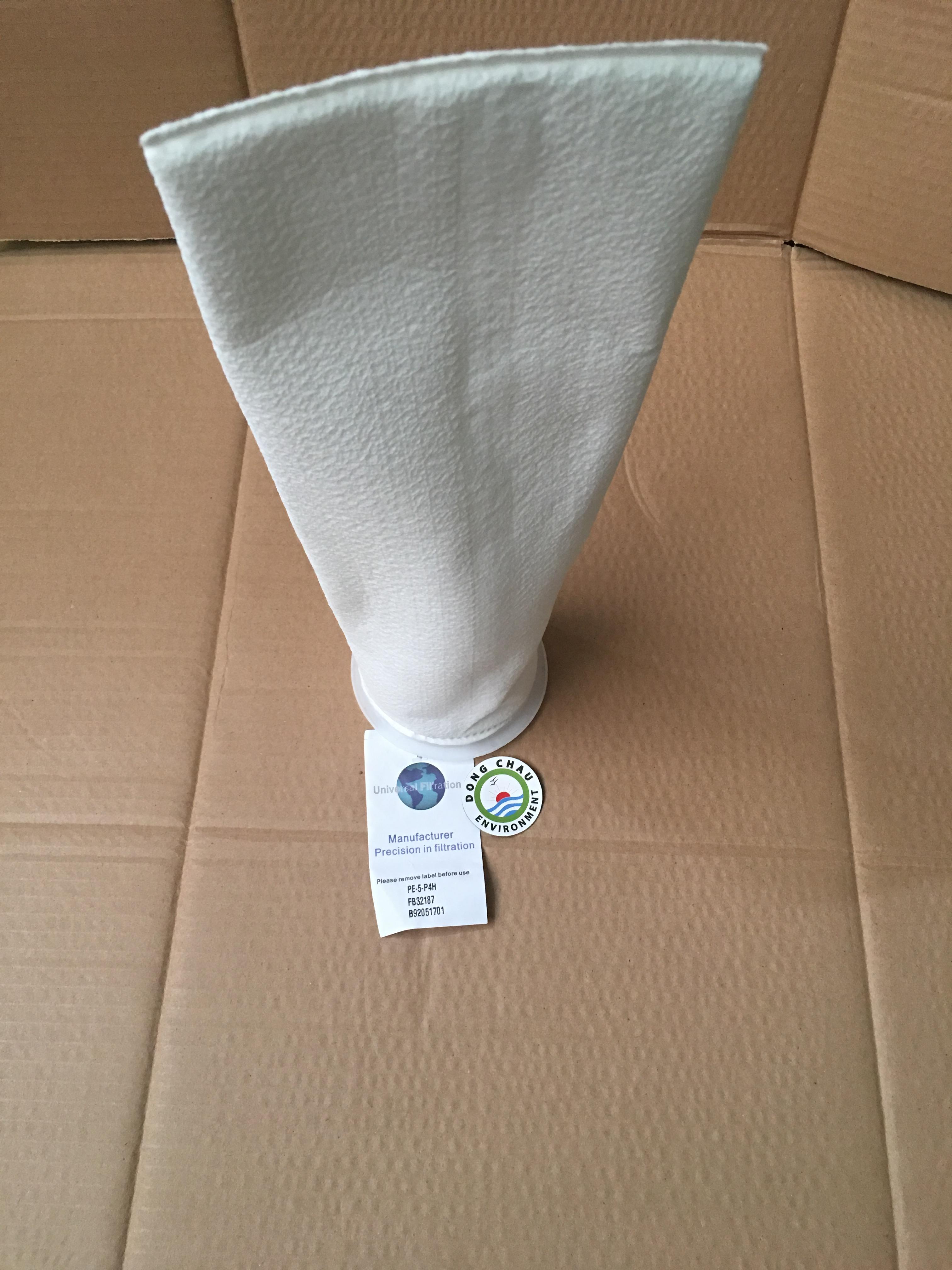 Túi lọc PE 5 micron size 4