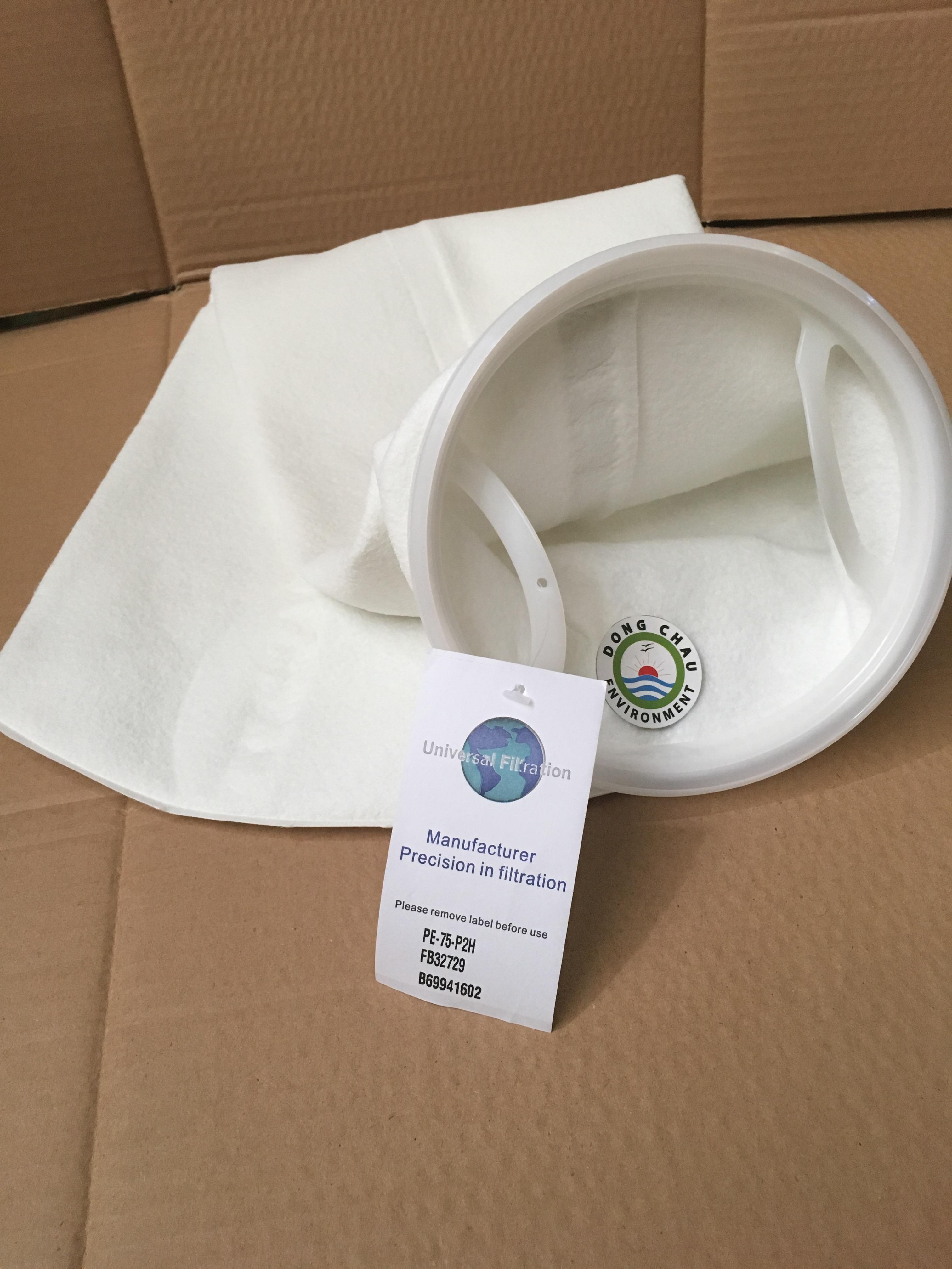 Túi lọc PE 75 micron size 2