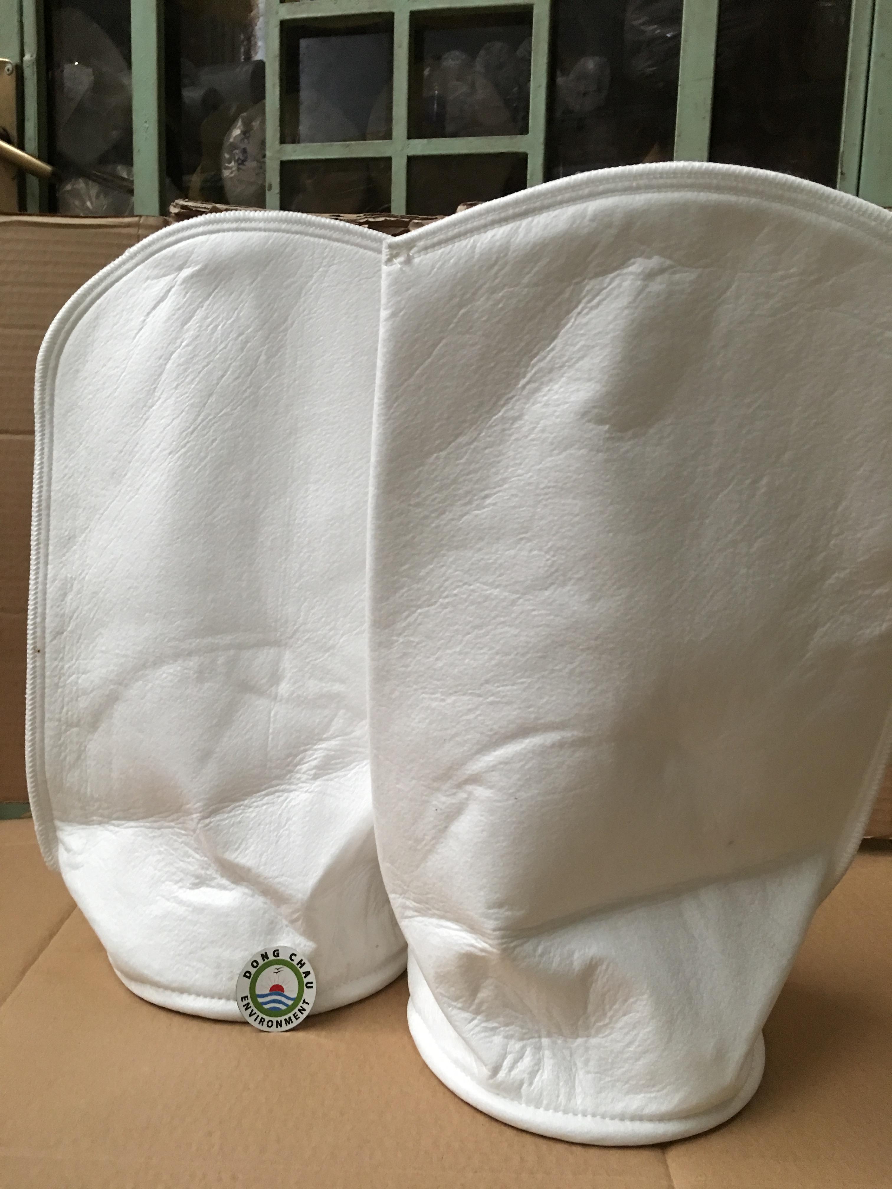 Túi lọc PP 1 micron may miệng vòng inox
