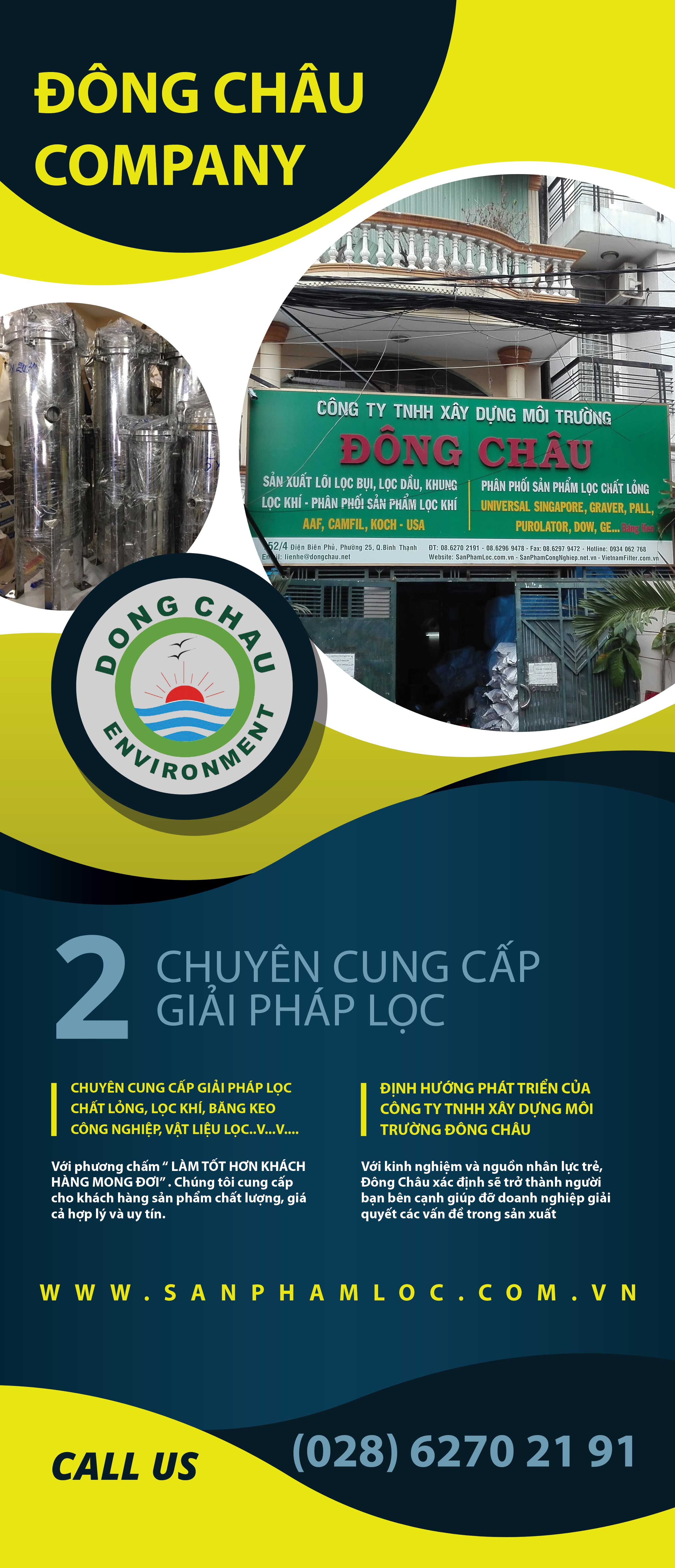 sản phẩm lọc công ty môi trường đông châu
